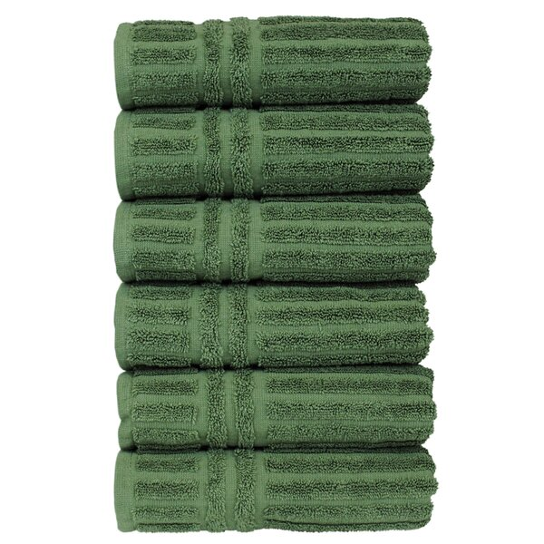 Cypress 100% Cotton Hand Towel (Set of 6) by Bare Cotton